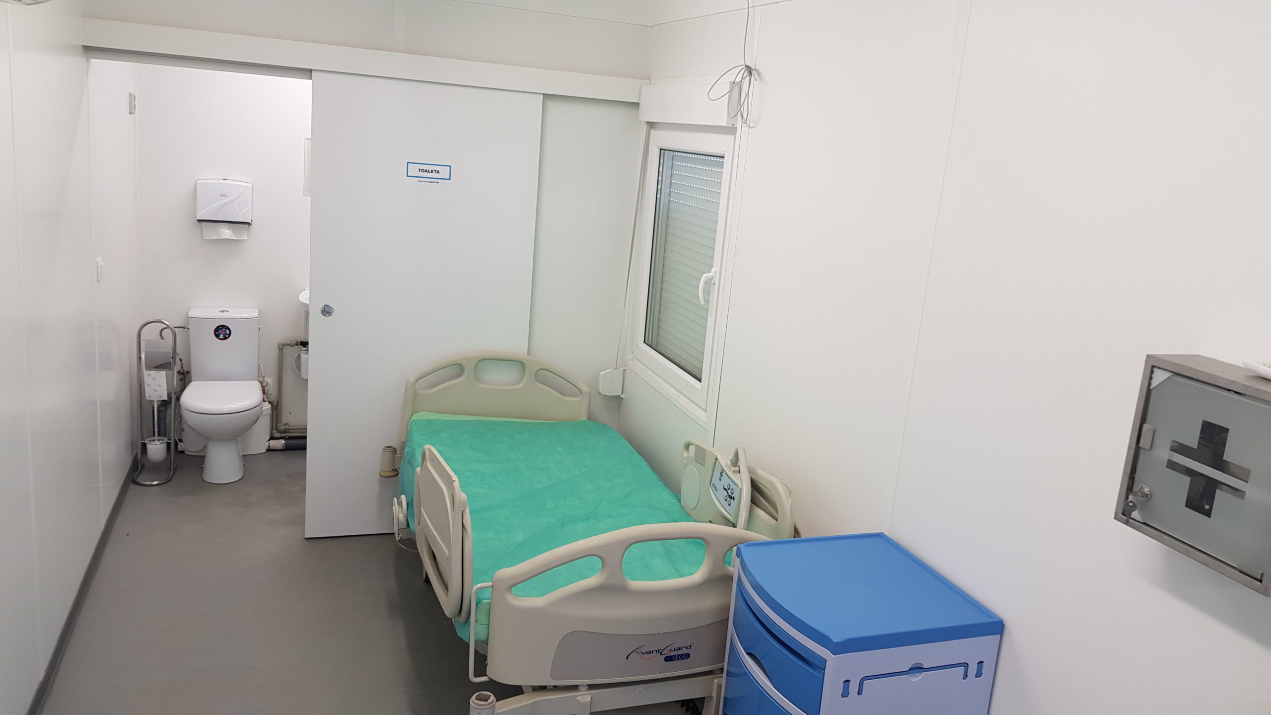 1-person isolation room